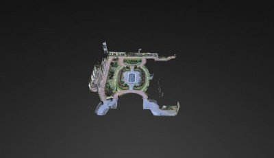 Mandarin Oriental, Atlanta | English Gardens 3D Model