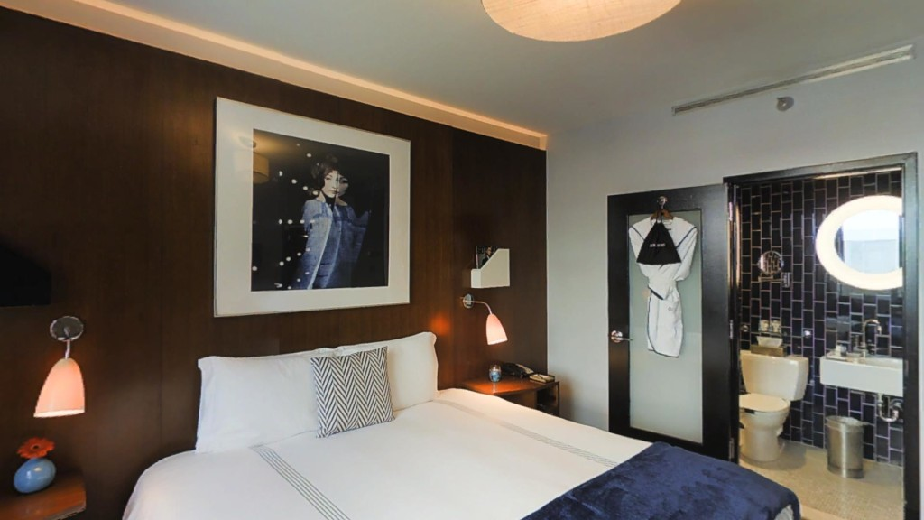 Deluxe Room: A 300 - 350 square feet city view room with a King or Queen bed and writing desk