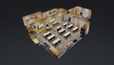 AUIS Classroom 3D Model