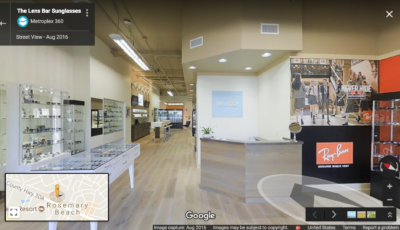 The Lens Bar | Seacrest Beach, FL – Google Street View Version 3D Model
